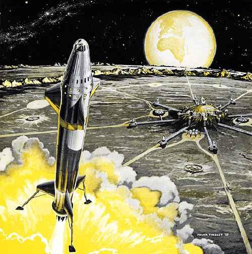 Ф. Тинсли «Ядерный ракетный корабль» (1959)