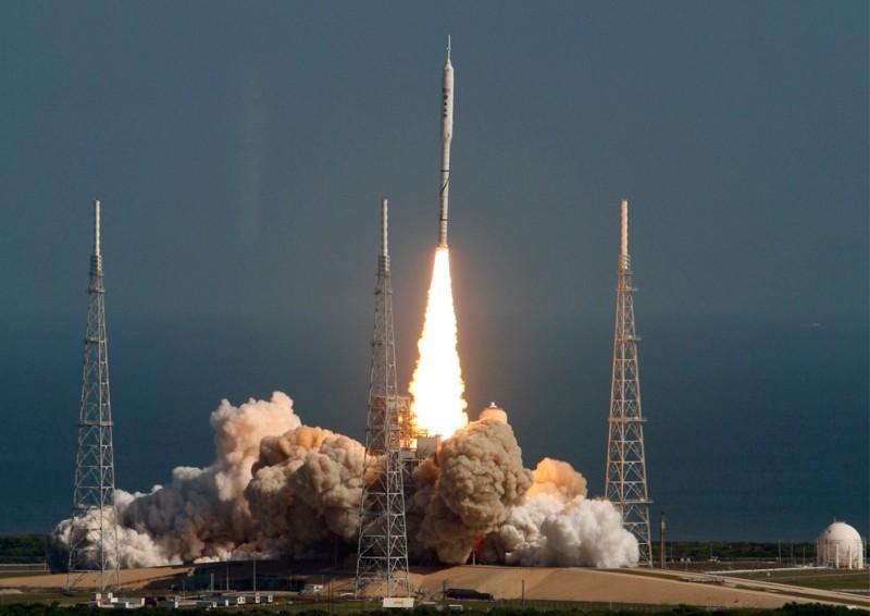 """запуск ракеты """"Ares-Orion"""""""