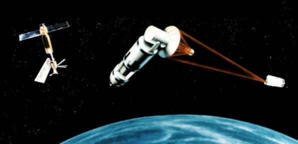 отражения советской ракетной атаки на земле и в космосе