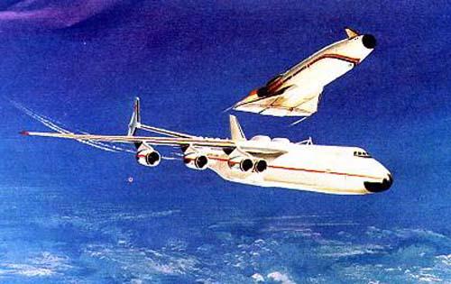 """самолёта-носителя на базе Ан-225 """"Мрiя"""""""