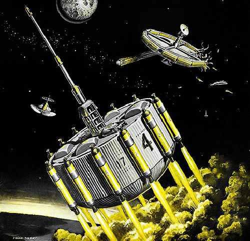 Ф. Тинсли «Спасение в космосе» (1959)