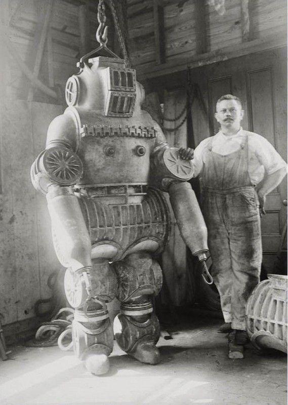 подводный скафандр