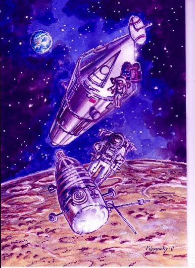 Redspace – наша новая рубрика посвященная нереализованным советским проектам освоения космического пространства