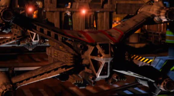 Babylon 5 – истребитель SA-23 класса Starfury.