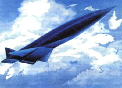 Орбитальный бомбардировщик Ту-2000.