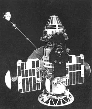 """Автоматические межпланетные зонды (АМЗ) """"Венера-2"""" и """"Венера-3"""""""