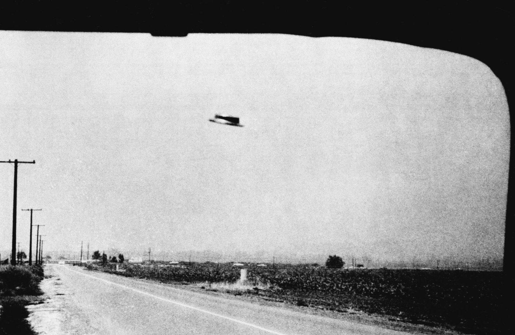Первое наблюдение НЛО в близи.