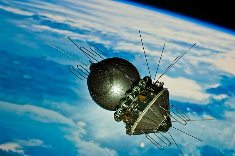 Орбитальный космический корабль «Восток».