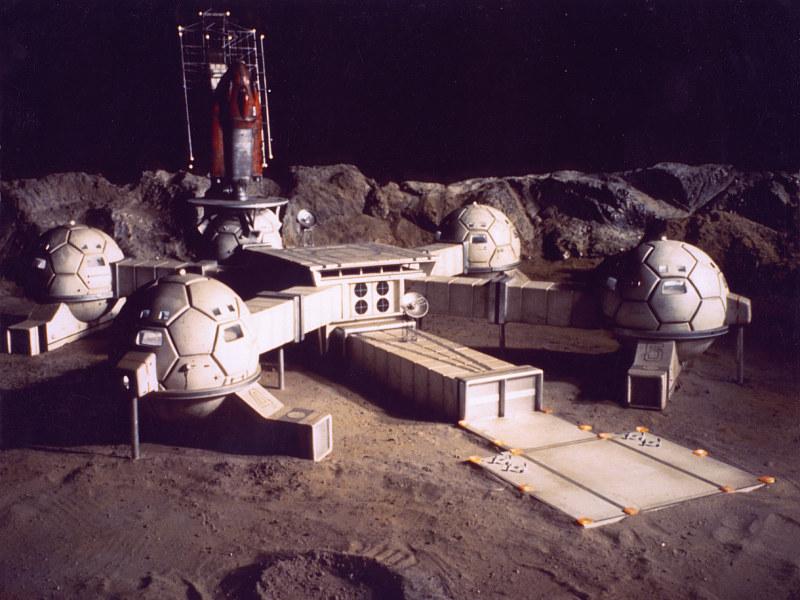 Moonbase– проект лунной базы
