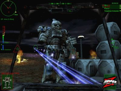 MechWarrior 3: Pirate`s Moon (Atlas разносит вражескую базу)