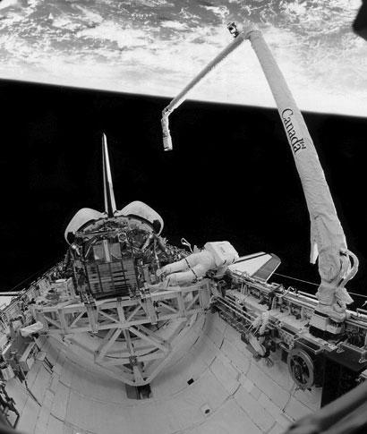 Станция в космосе