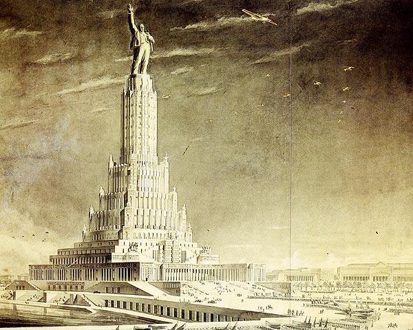 Никогда не построенные города будущего.
