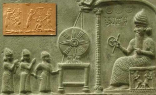 Раскопки в Месопотамии и НЛО.