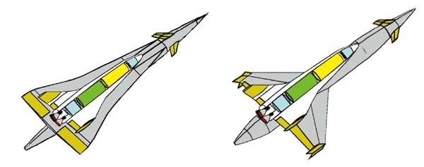 FSSC-12– аналог ракетно-космической системы типа Sanger.