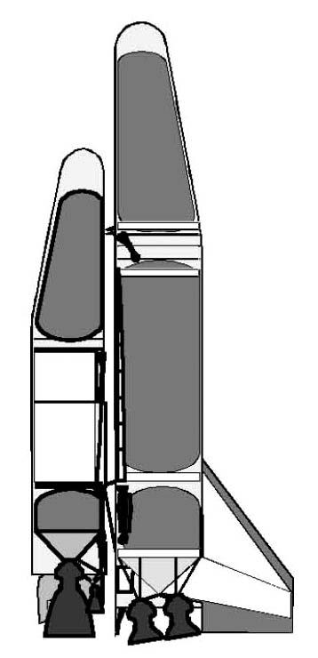 FSSC-9– проект космического корабля с вертикальным стартом