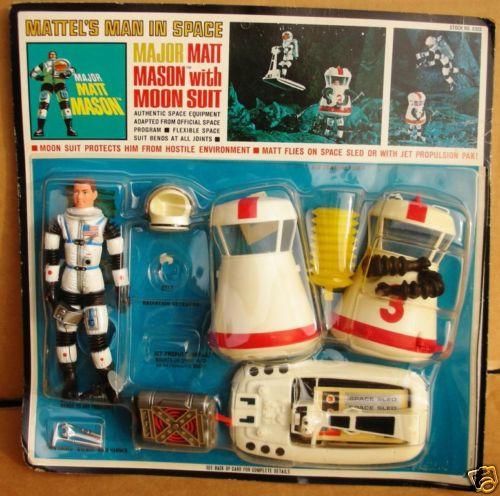Игрушка - фантастического героя Major Matt Mason