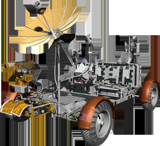 Apollo Lunar Rover.