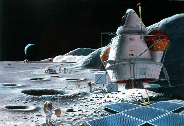 Лунные базы. Рестроспектива-2.