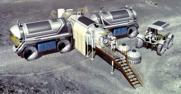 Лунная база - ПроектLunox