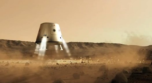 Марсианская экспедиция по-голландски.