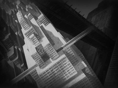 """Знаменитый Metropolis – титанический """"двухярусный"""" город из одноименного фильма Фрица Ланга (1927)."""