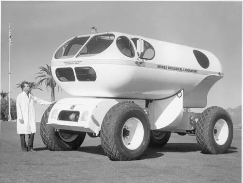 внедорожное транспортное средство для геологических исследований.