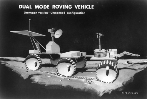 Проект Grumman Dual Mode Rover