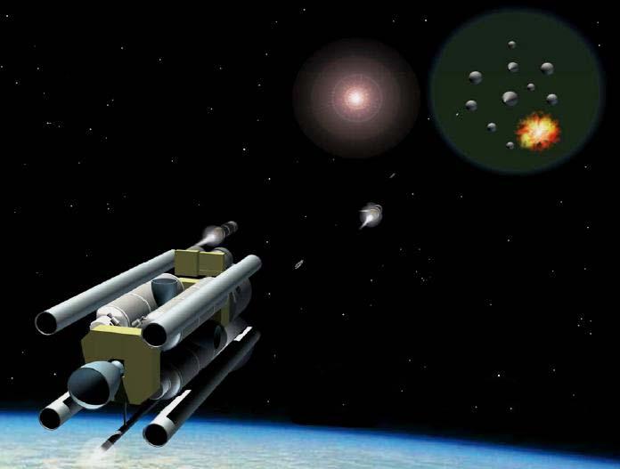"спутники-перехватчики программы ""Brilliant Pebbles"""