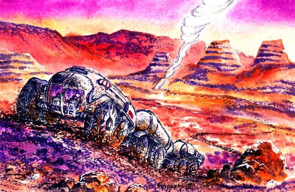 Марсианские ПИКи (Планетный Исследовательский Комплекс).