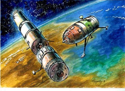 Продолжение темы советских лунных экспедиций.