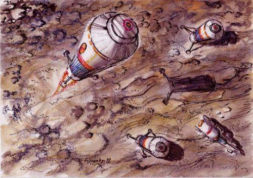 "Redspace – лунная база ""Звезда"""
