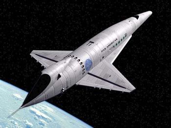 Space Clipper космической одиссеи.