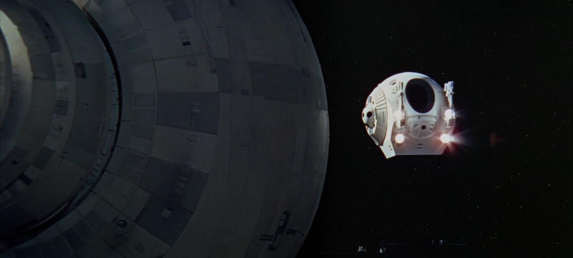 Космическая капсула.