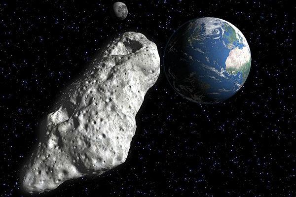 Астероид Таутатис медленно вращается на новом видео от NASA