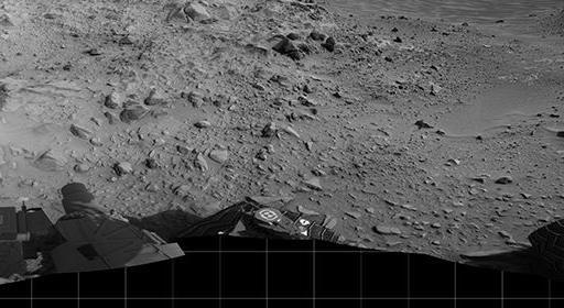 Curiosity приближается к подножию Горы Шарп