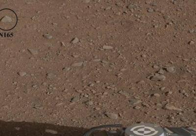 Curiosity расплавит марсианский булыжник