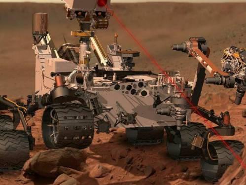Curiosity расплавит свой первый образец марсианский породы