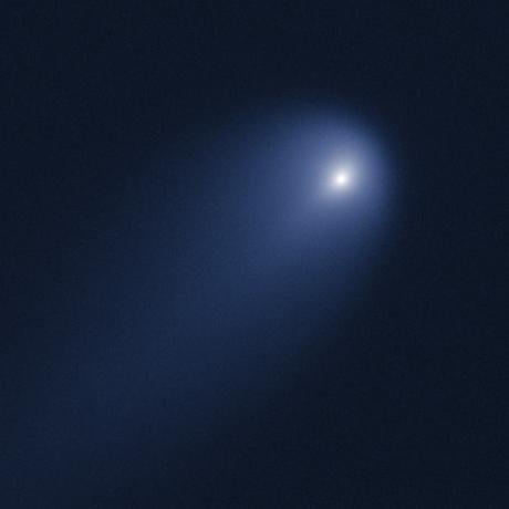 Космическая пыль от кометы ISON может рассказать многое