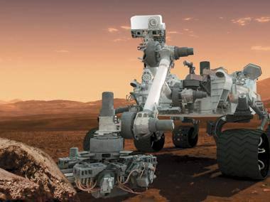 Российский прибор передал первые данные о воде на Марсе