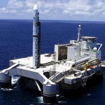 32 запуск в рамках программы ;Морской старт;