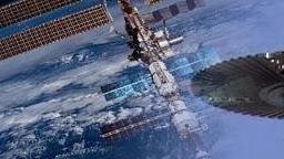 Олимпийский факел слетал в космос