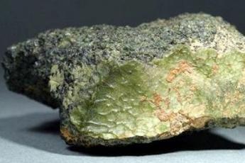 Зеленый камень – гость с Меркурия?