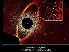 Астрономы шокированы необычной орбитой планеты Фомальгаут b