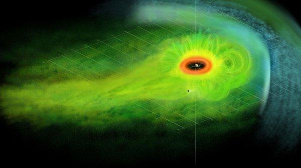 Смена времен года на Сатурне меняет и его магнитосферу