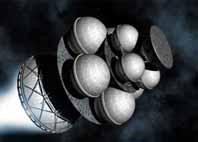 """Межпланетный космическия корабль """"Daedalus"""""""