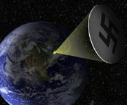 Sonnengewehr Raumstation (иллюстрация из блога «Damn Interesting»)