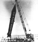 """Баллистическая ракета """"Redstone"""" американской армии, 1950-е гг."""