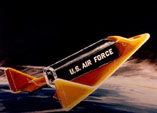 Космоплан Boeing X-20A в околоземном пространстве (рисунок)