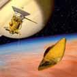 Посадка на Титан аппарата Huygens (рисунок)