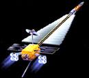 """Один из проектов космического корабля проекта """"Prometheus"""""""